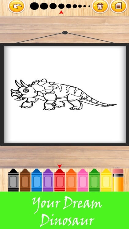 Dinosaur Kid Coloring Book 2 Relaxing Your Stress
