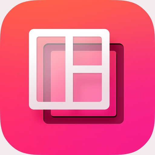 DePic – Transparent collage photo editor + customize picture frames with text captions for Instagram and social networks