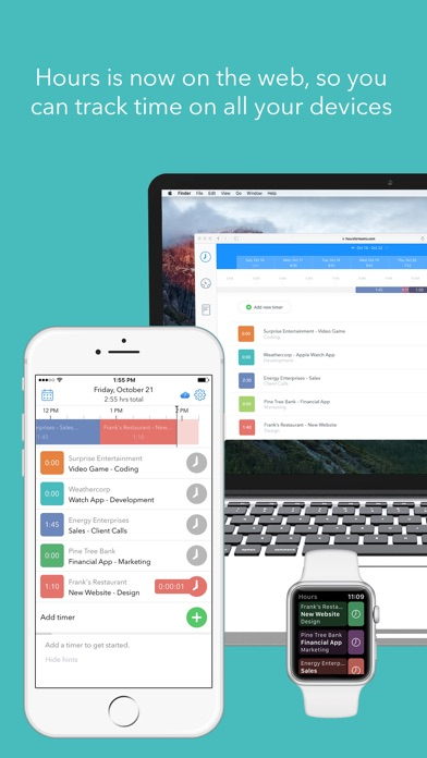 download Hours Time Tracking appstore review