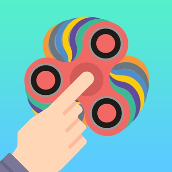 Tappy Fidget Spin app for iphone