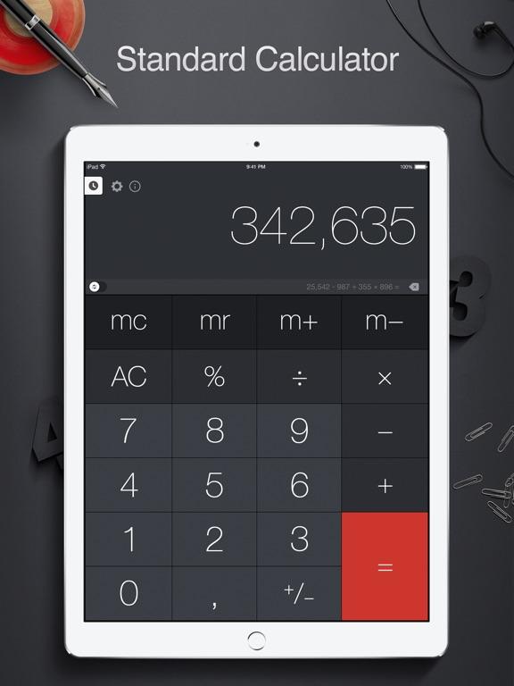 Screenshot #1 for Calculator Pro for iPad - Calculator & Converter
