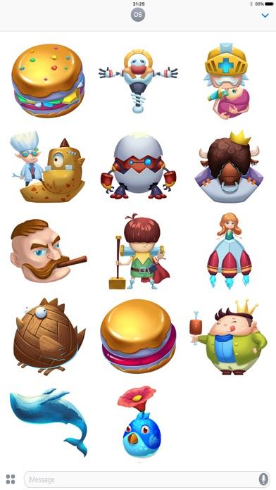 Pocket Game Stickers Screenshot 2