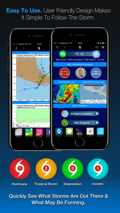 Screenshot #3 for Hurricane Tracker