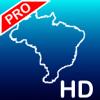 Aqua Map Brazil HD Pro - GPS com cartas náuticas