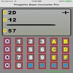 progwhiz base calculator pro app report on mobile action. Black Bedroom Furniture Sets. Home Design Ideas