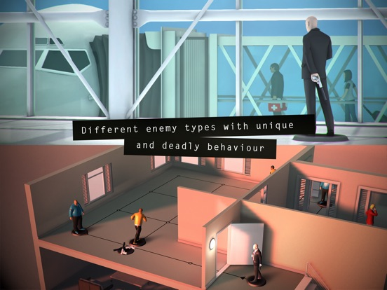 Screenshot #3 for Hitman GO