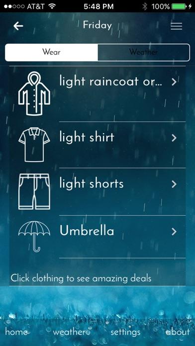 Wear WeatherScreenshot of 2