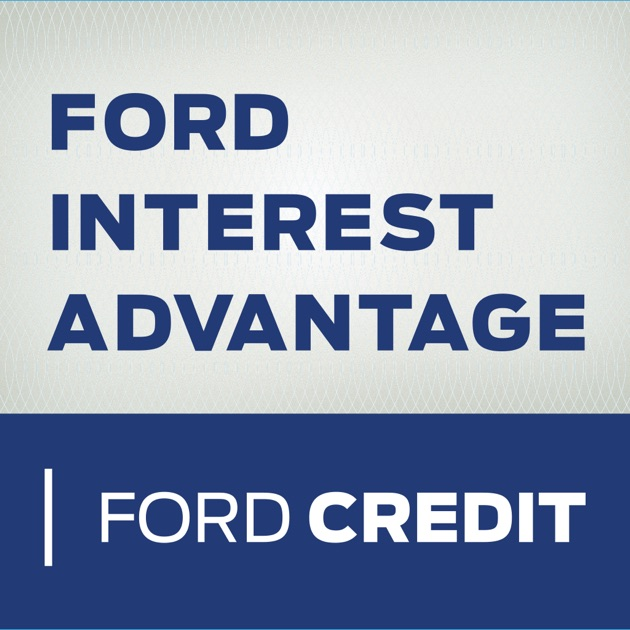Ford interest advantage app on the app store for Ford motor company credit card