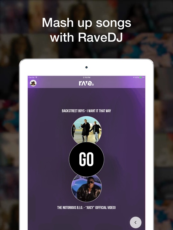 Rave - Videos with Friends Screenshot