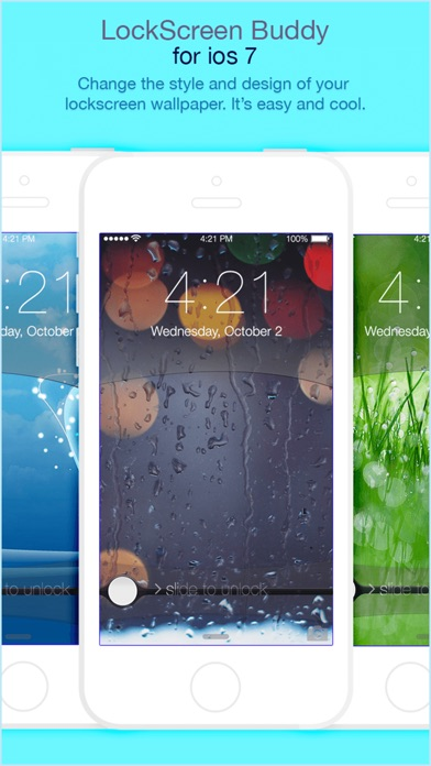 MagicLockstar Design Cool Lockscreen Wallpapers Screenshot
