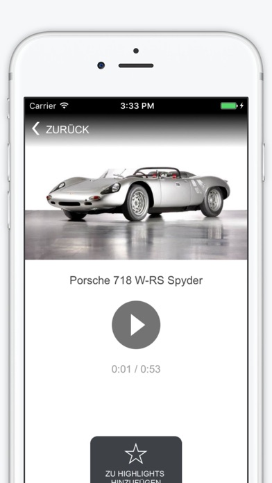 Porsche Museum Screenshot
