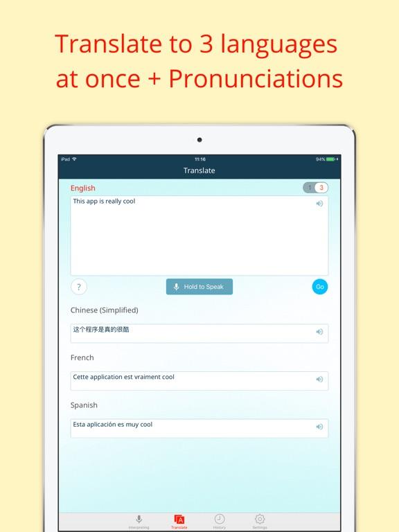 Instant Voice Translator Pro Screenshot