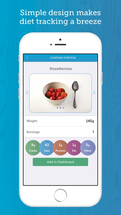 download Carbs & Cals: Visual counter for diet & diabetes appstore review