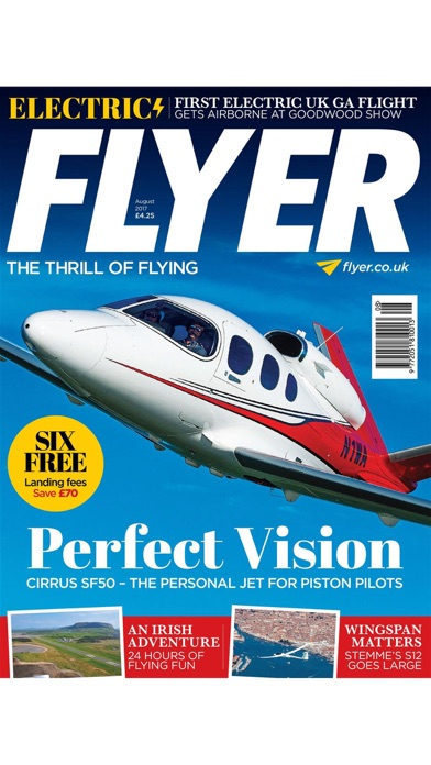 Flyer Magazine review screenshots