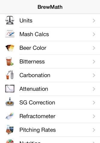 BrewMath screenshot 1