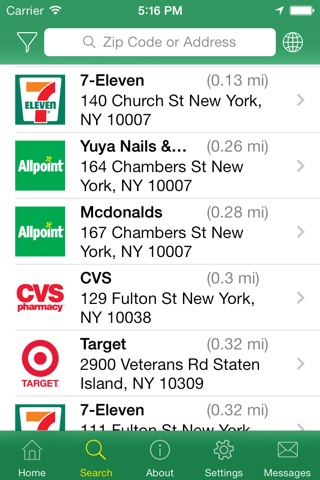 Allpoint® - ATM Locator screenshot 3