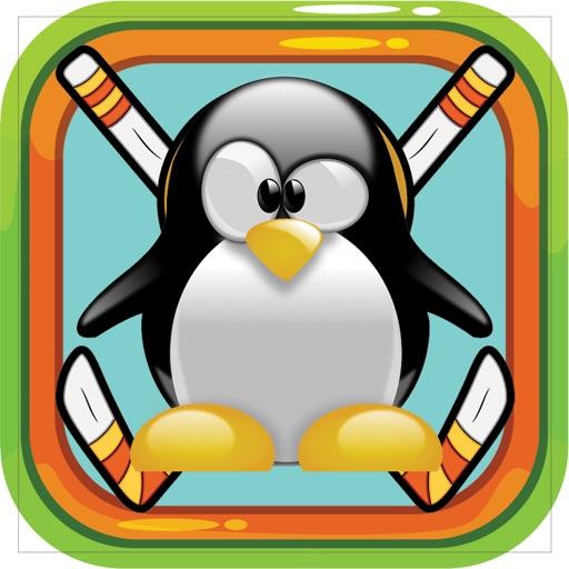 Penguin Fight Glow Ice Hockey Shootout Extreme iOS App