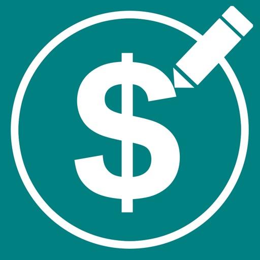 CashLogger - Simple account Book - iOS App