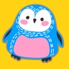 Animal and Doodle Stickers a Kawaii Sticker Pack