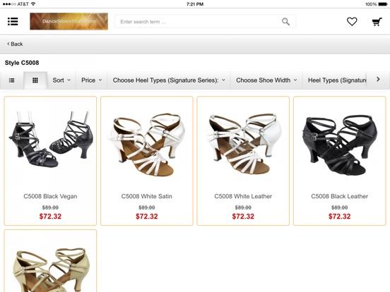 dance shoes store app