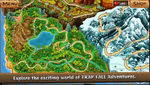 TRAPFALL Adventures Screenshot