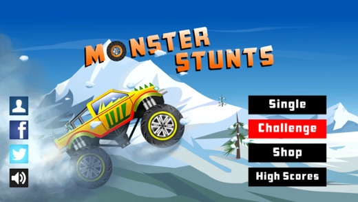 Monster Stunts: Extreme Stunt Truck Racing Screenshot