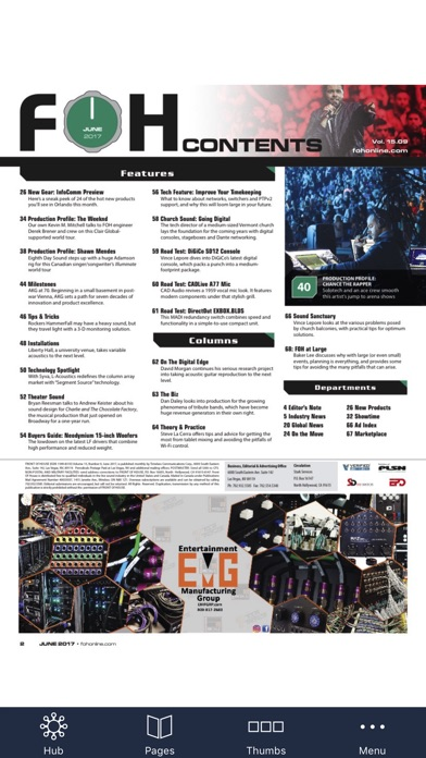 Front Of House (foh) Magazine review screenshots