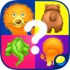 Карточки с животными - обучающие игры для малышей