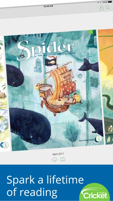 Spider Magazine review screenshots