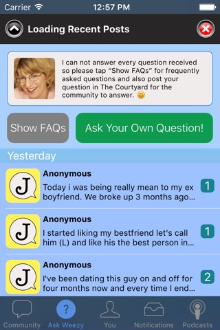 Journals Out Loud: Advice Community screenshot 3