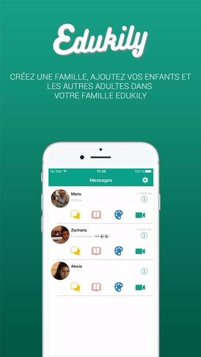 Edukily - Family Video CallCapture d'écran de 3