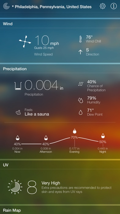 Screenshot #9 for Weather Live - Weather Forecast, Radar and Alerts