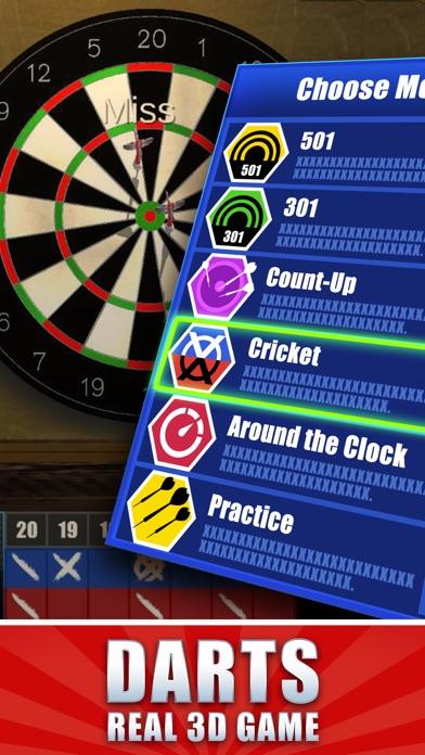 Screenshot von Dart Master 3D3