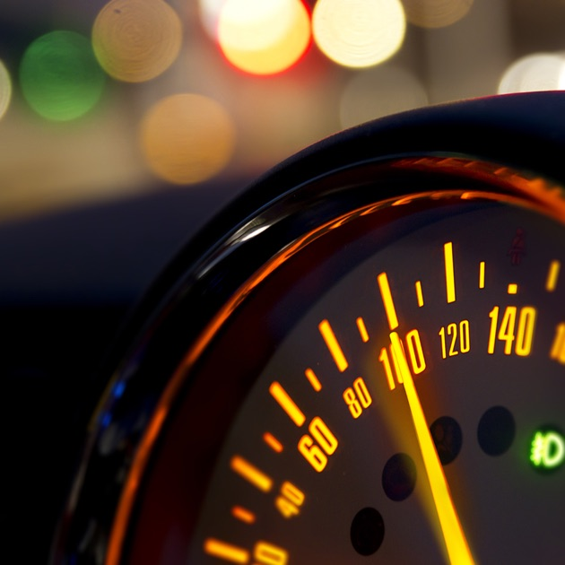 Speed Up - acceleration car test, GPS speedometer on the ...