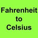Fahrenheit to Celsius+