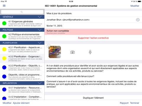 EHS Audit - Inspect better screenshot 2