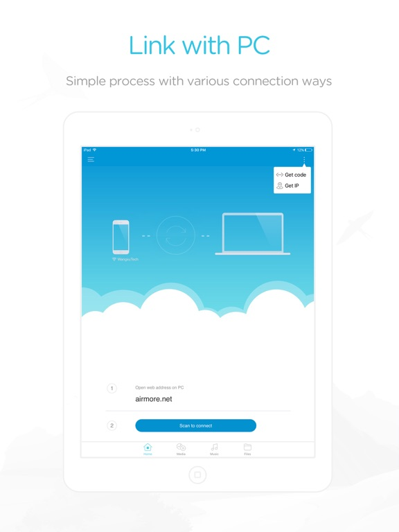 how to connect pc to iphone