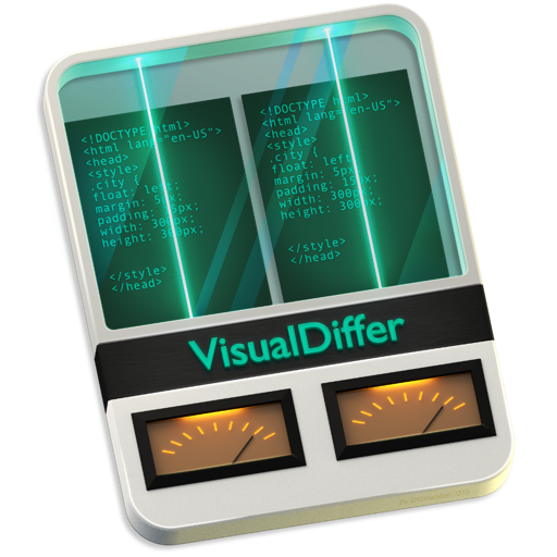 文件比较 VisualDiffer For Mac