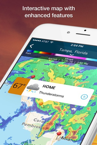 WeatherBug - Radar, Map, Alert screenshot 2