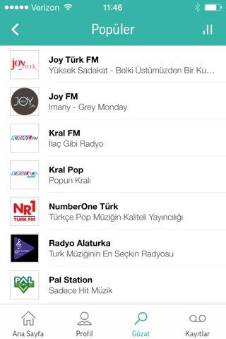 TuneIn Pro - Radio & Sports screenshot 3