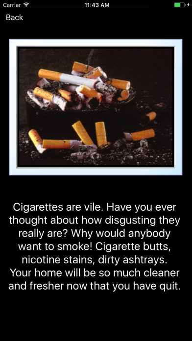 My Last Cigarette review screenshots