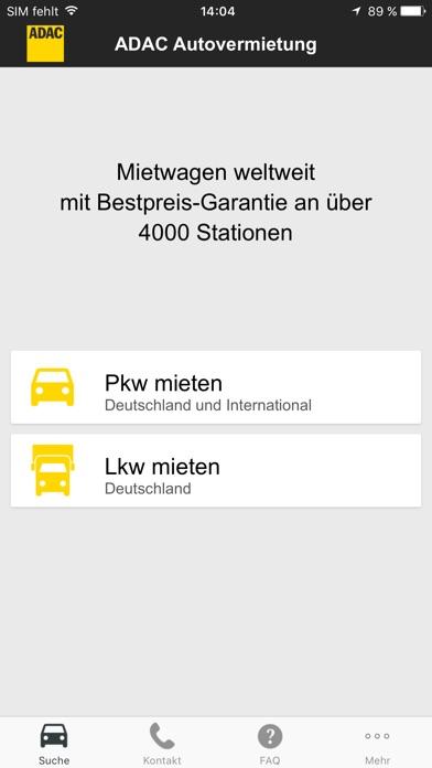 app shopper adac mietwagen travel. Black Bedroom Furniture Sets. Home Design Ideas