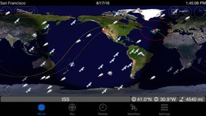 GoSatWatch Satellite ... screenshot1