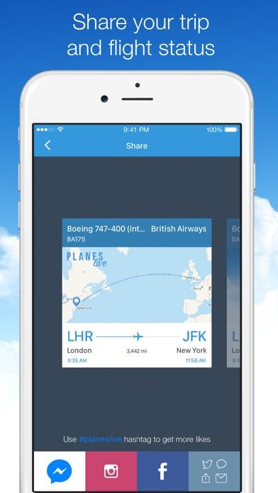 Screenshot #9 for Planes Live - Flight Status Tracker and Radar