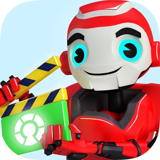 VidMaker - 3D MovieMaker for Kids iOS App