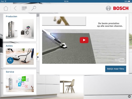 Bosch dealer catalogus bsh huishoudapparaten b v on the app store - Catalogus gaggenau ...