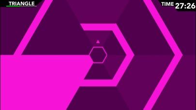 Screenshot #1 pour Infinite Hexagon - Super Geometry Mania!
