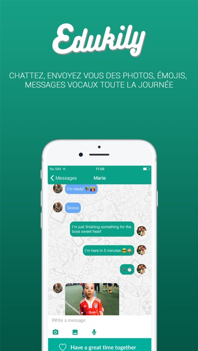 Edukily - Family Video CallCapture d'écran de 4