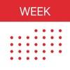 Week Calendar 앱 아이콘 이미지