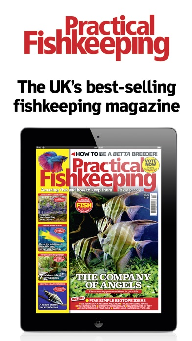 Practical Fish Keeping Magazine (pfk) Hints Tips review screenshots